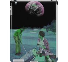 EARTH GOLF. iPad Case/Skin