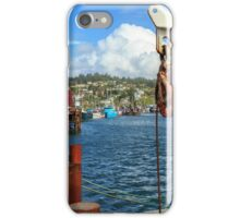 Pulley Cables And Boats iPhone Case/Skin