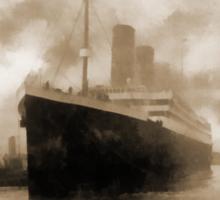 Titanic the Ship of Dreams Sticker