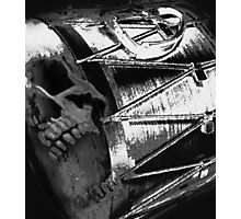 blood and thunder - B&W version Photographic Print