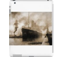 Titanic the Ship of Dreams iPad Case/Skin