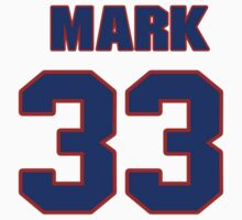 National Hockey player Mark Astley jersey 33 by imsport