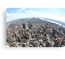 Manhattan from Empire state Building Canvas Print