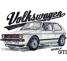 Volkswagen golf GTI by dareba