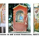 Montefalco Series #03  Some very old and beautiful religious frescos from local churches. by Keith Richardson