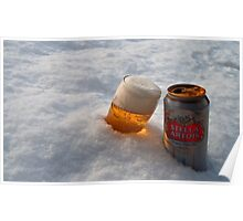 Beer in the snow Poster