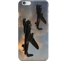 BBMF and Canadian Warplane Heritage Museum Lancasters iPhone Case/Skin