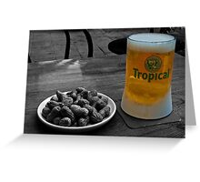 Beer of the Canaries Greeting Card