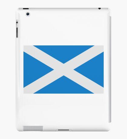 Scotland flag iPad Case/Skin