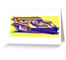 917/30 Abstract Version Greeting Card