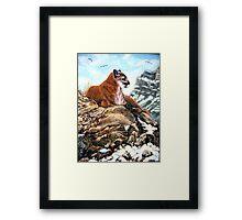 """""""After The Hunt"""" Framed Print"""