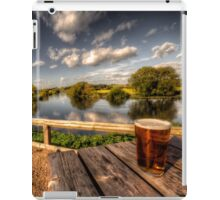 a pint with a view iPad Case/Skin