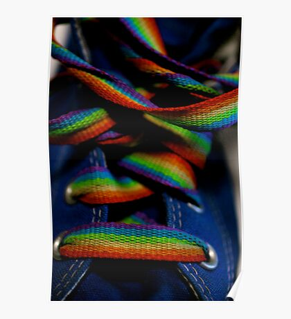 rainbow laces Poster