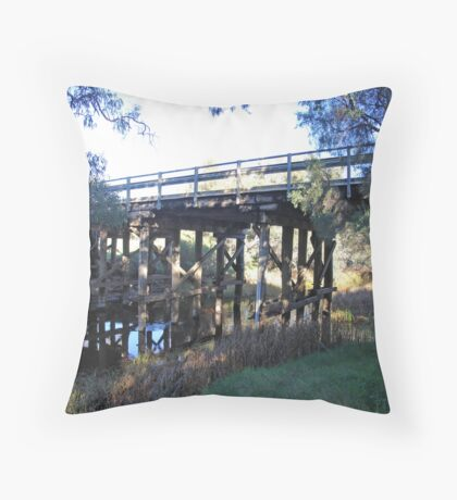 Typical Aussie bridge Throw Pillow