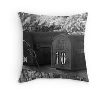 Wilk E. Throw Pillow