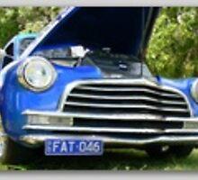 Blue 1946 Fat Boy Chev. by logancitycustom