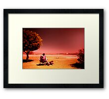 Australiana: Sun Drenched Framed Print