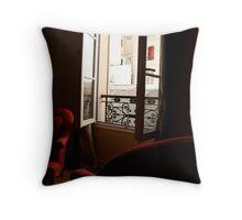in Paris Throw Pillow