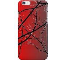 Red And Gray iPhone Case/Skin