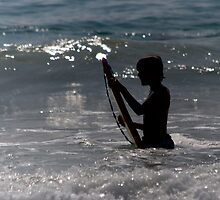 Surfer Silhouette by KAlwan