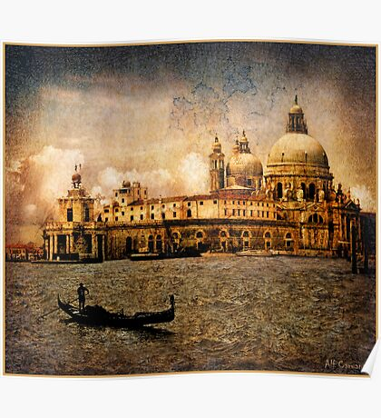Painted Venice Poster
