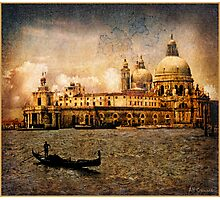 Painted Venice Photographic Print