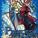 Princess Time - Elsa & Anna by Penelope Barbalios