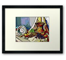 Still Life With Copper Cup Framed Print