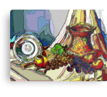 Still Life With Copper Cup Metal Print