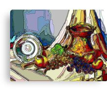 Still Life With Copper Cup Canvas Print