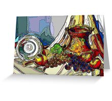 Still Life With Copper Cup Greeting Card