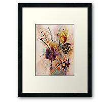 The Splash Of Life. Composition 2 Framed Print