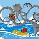 Mech Kraken by Grafixcat