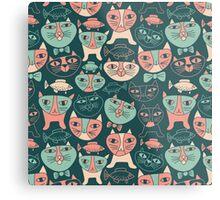 Funny Cats Metal Print
