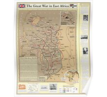 The Great War in East Africa Poster