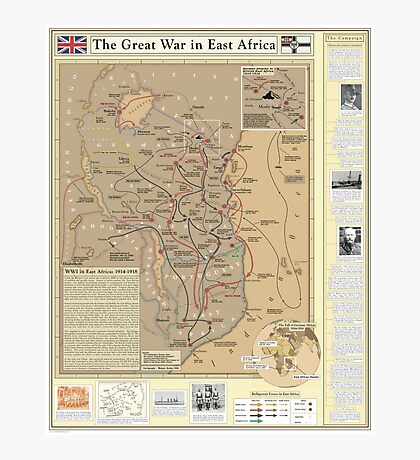 The Great War in East Africa Photographic Print