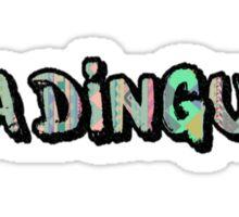 Ya Dingus Aztec Variant by SmashBam Sticker