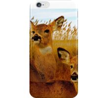 Deer Side by Side iPhone Case/Skin