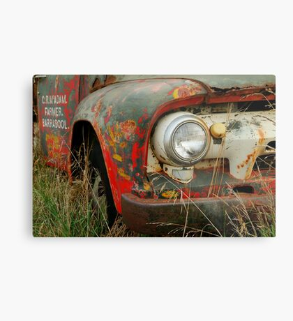 Barrabool Farmer Metal Print