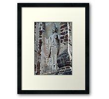 Buddha Niche Framed Print