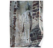 Buddha Niche Poster