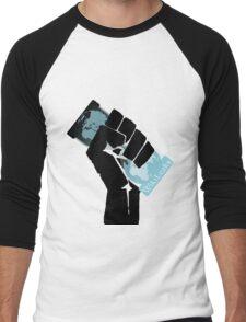 WikiLeaks Revolution Men's Baseball ¾ T-Shirt