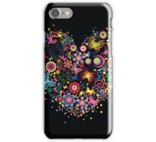 Floral heart iPhone Case/Skin