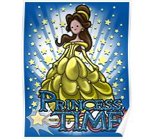 Princess Time - Belle Poster