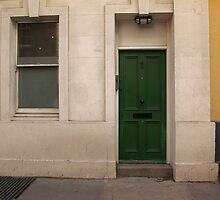 London Door by Pamela Maxwell