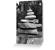 Balance too! Greeting Card