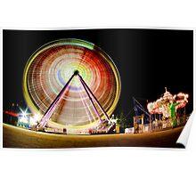 Birrarung Mar Ferris Wheels Poster