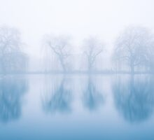 Ghostly Reflections by Stuart  Gennery