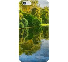 Impressions of Summer - St James's Park Lake Reflections iPhone Case/Skin