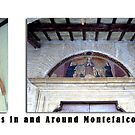 Montefalco Series #12  Many doorway arches are decorated with old religious frescos by Keith Richardson